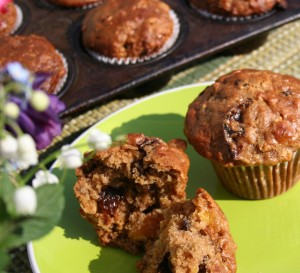 Fruity Oatmeal Muffins 007